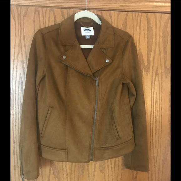 85187146f8 Old Navy Sueded Knit Moto Jacket. M 5aac1d8adaa8f6149dfbb743